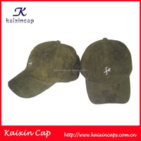 unstructured low profile golf cap suede baseball hat