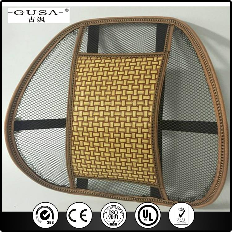 Hot Selling Mesh Back Car Seat Pad Massage Cushion in mesh material