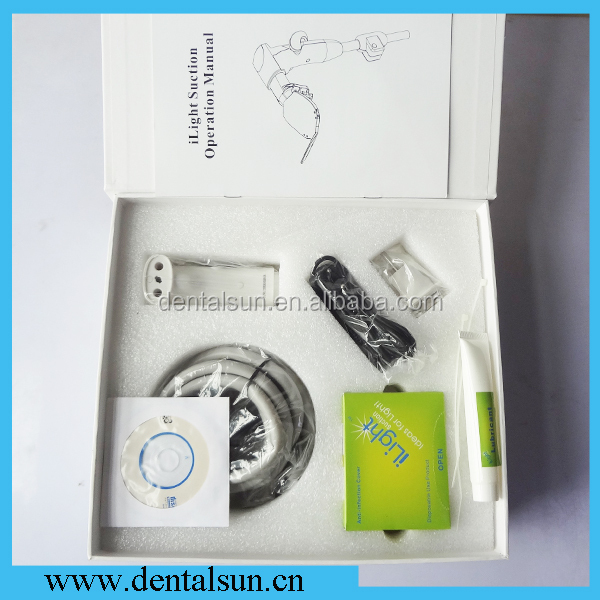CE Approved Dental Self-Suction with Light/iLight Suction