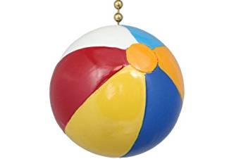 Clementine Design Beach Ball Ceiling Fan Pull