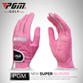 PGM Golf Gloves Women Super Fiber Fabric Soft Breathable Hand Gloves Wear resistant Good Quality Golf