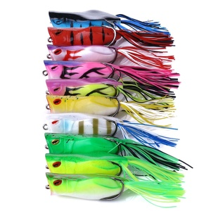 Hot selling frog lure bass soft body baits 7CM 14G wholesale fishing frog catfish lure