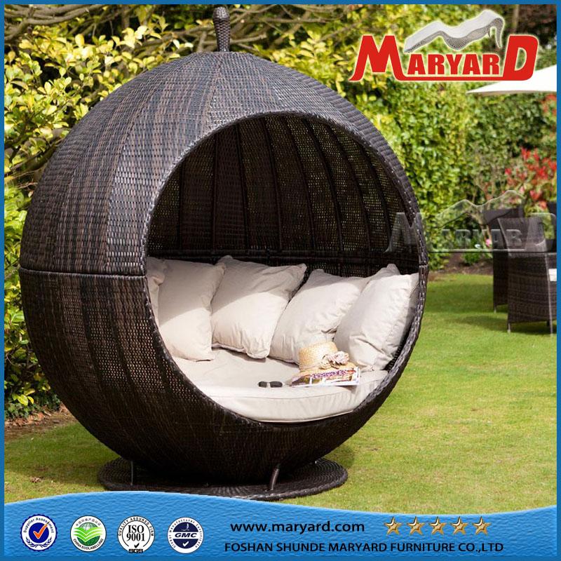 beautiful lit de jardin en osier photos design trends 2017. Black Bedroom Furniture Sets. Home Design Ideas