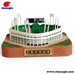 Custom miniature building model Toys OEM different model of houses