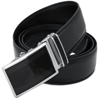 Men High Quality Cow Hide Leather Belt With Custom Automatic ...