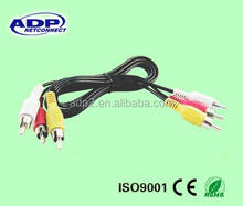 ADP 2 Way 3 Pin Male to Male Jack Aux Stereo Audio Cable 3.5mm