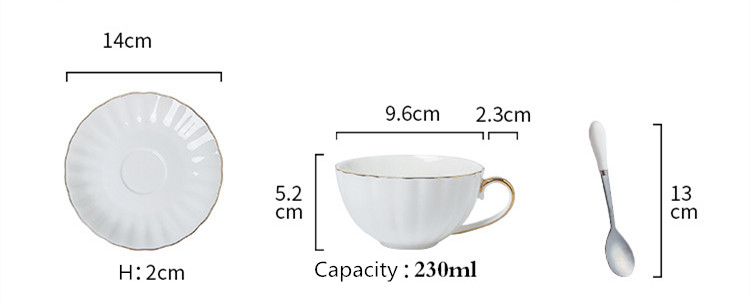 Gold Cups And Saucers/wholesale Gold Plated Nordic Coffee Tea Cup Set  Ceramic Coffee Cup Saucer Set - Buy Nordic Coffee Cup Set,Tea/coffee Cup