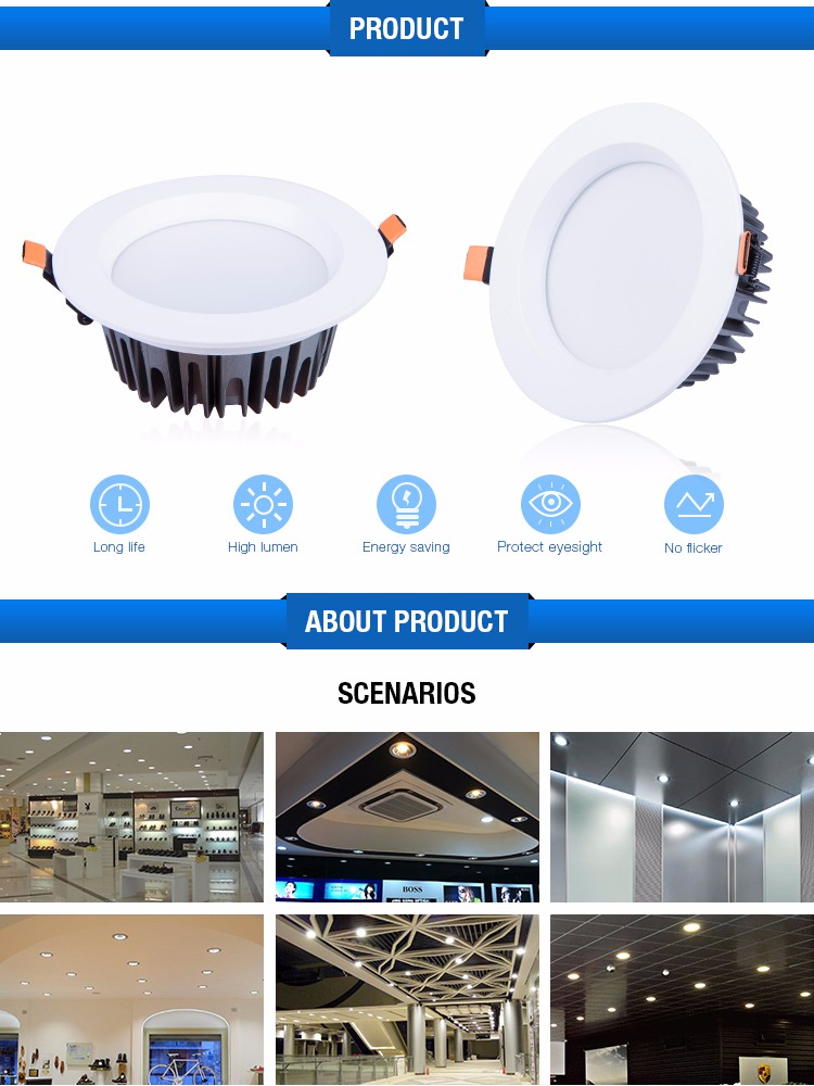 Factory Wholesale High Quality Guangzhou Led Flat Saa Downlight ...