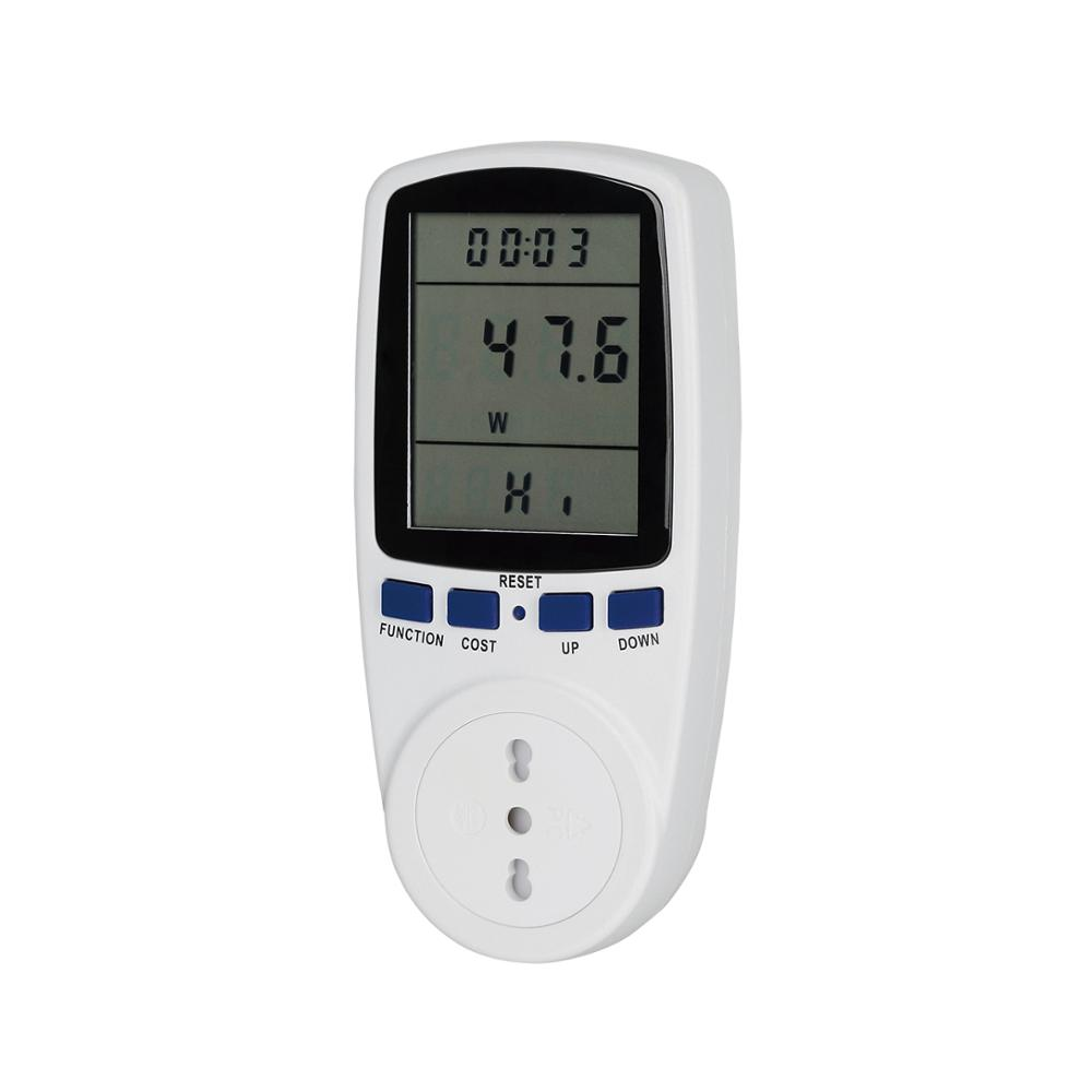Italy Electric Power Energy Consumption Monitor Meter Analyzer Socket