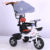 EVA wheel 10 inch baby carrier tricycle / pedal cars for kids india / baby tricycle with parent handle