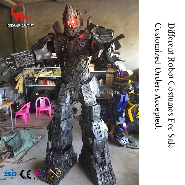 New Design Cosplay Led Movie Amusement Park Robot Costumes For Sale
