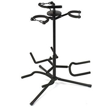 Tripod Black Guitar Stand For Electric / Acoustic Guitar - Best Guitar Stand At Wholesale