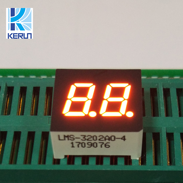 10 PCS 2 Digits 0.4 INCH RED NUMERIC LED DISPLAY COMMON CATHODE 10 Pins 2 Digit
