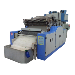 A186 Sheep Wool Spinning Machinery Cashmere Carding Machine