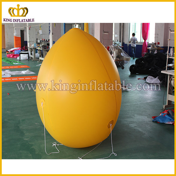 Inflatable lemon model for decoration inflatable advertising fruit model replica