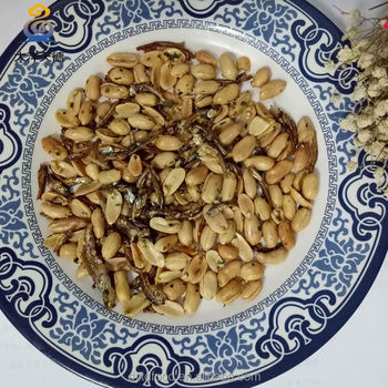 dried fish food peanut kernel with red skin