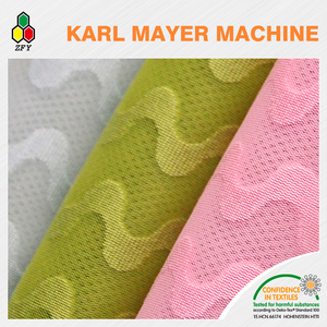 Changshu knitted polyester mattress ticking fabric for mattress