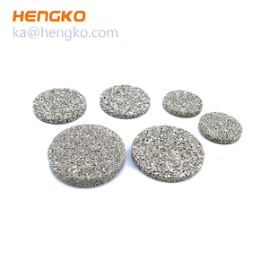 used in micro pharmaceutical filtration equipment - sintered stainless steel 304 316L HENGKO filter element
