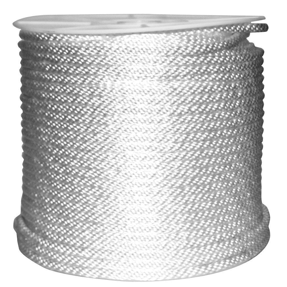 Rope King SBN-38500 Solid Braided Nylon Rope 3/8 inch x 500 feet