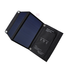 15W Sunpower Fast Charging 5V Solar Panel Mobile Charger