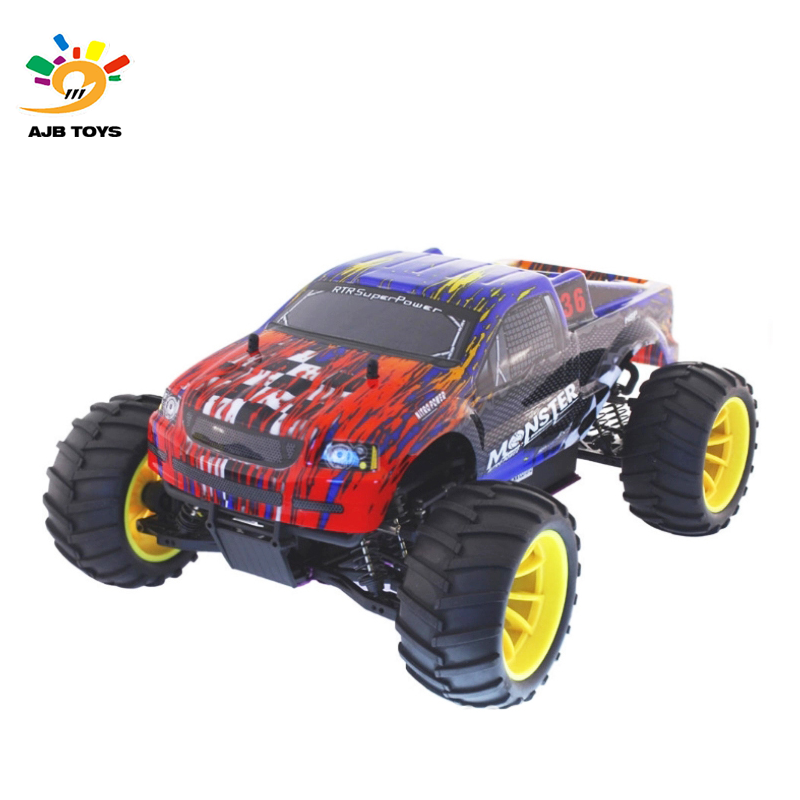 HSP Monster 1/10 Nitro Off-Road Truck Engine 18CXP 94108 4WD RC Nitro Monster Truck