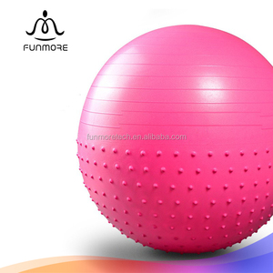 Premium non-toxic eco friendly PVC pilates gym ball