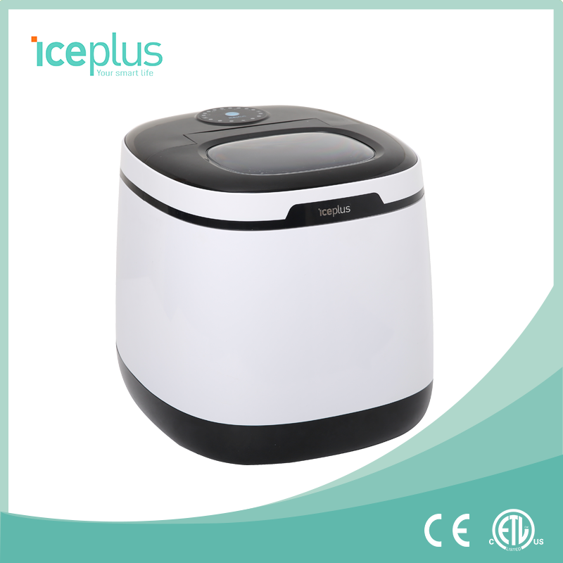 Hot selling household Mini bottled water ice maker, iceplus factory price mini ice maker machine
