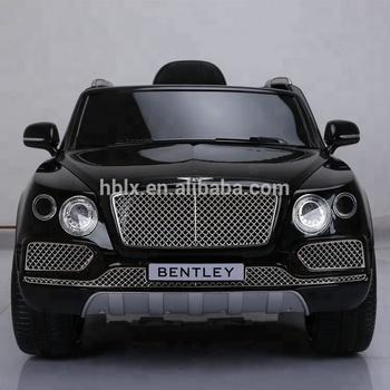 Voiture Alimenté Ride nouveau Licence Enfants Jouet enfants En De Jouet Par Batterie Sur Bentley Sous Suv Gros Voiture Rc E2HD9I