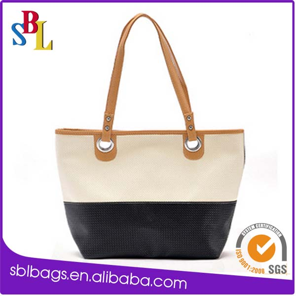 Shopping eco bag&cotton handle paper shopping bag&shopping art paper bags