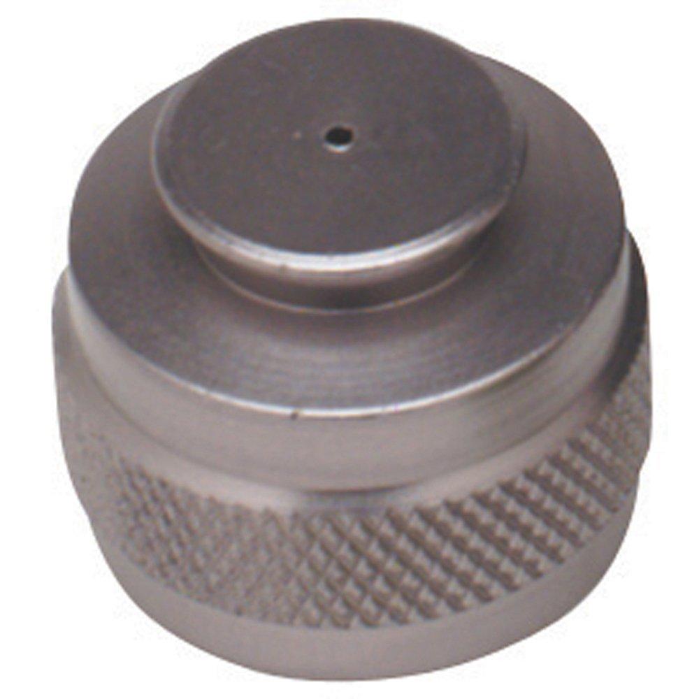 Pure Energy CO2 Tank Thread Protector Silver