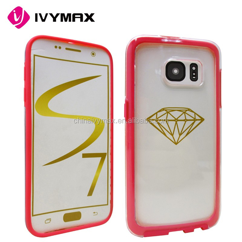 China suppliers brg newest fashional protective case for Samsung Galaxy S7
