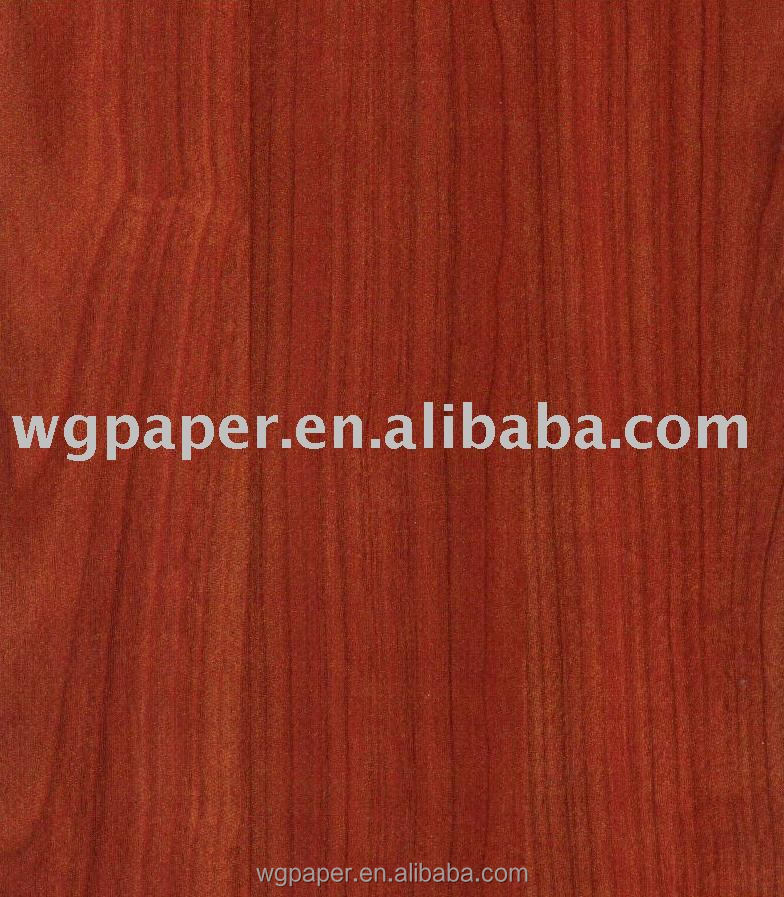 wood grain series Decorative melamine roll Paper for MDF on laminating line