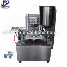 New product 2017 soybean milk cup filling sealing machine