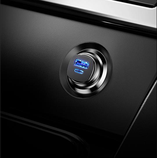 Baseus nuevo diseño de PPS cargador de coche para Iphone XS amigo 20