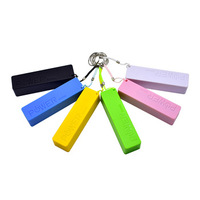 Wholesale Perfume External Battery Charger 2600mah Portable Power Bank With USB Cable For Smart Phone