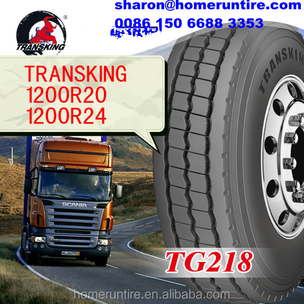 Alibaba China Supplier 1200r20 1200r24 Radial Truck Tire for Saudi Arabia,TRANSKING Brand 1200r24 tyres for trucks with GSO, 385