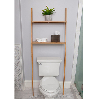 Bad Organizer Über Die Toilette,Bad Platzsparer Bambus 2 Tier Regal  Wasserdichte Freistehende Bad Regale - Buy Bad Platzsparer,Badezimmer ...