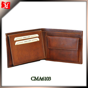 New Style cheap leather wallet leather wallet 2014 human leather wallet