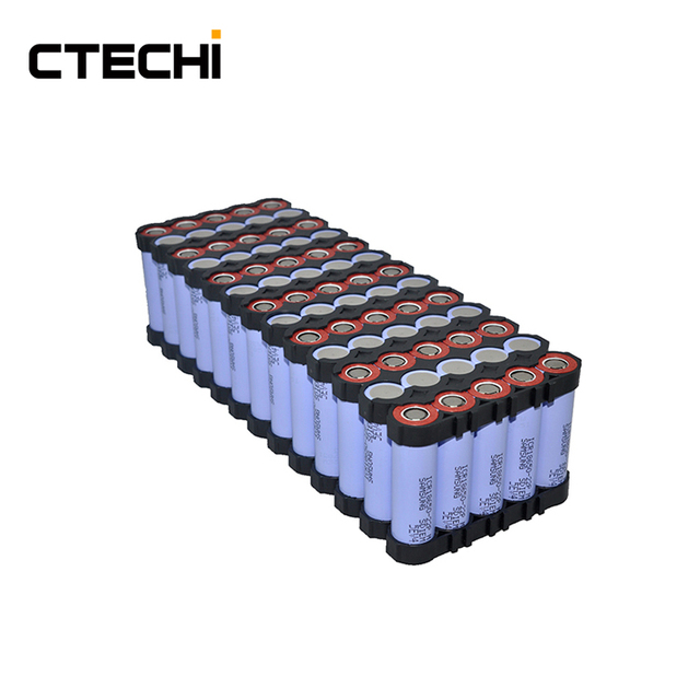 CTECHI 11Ah 48V recharge 18650 battery pack 13P5S replacement battery for e bike