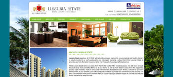 Real Estate dynamic website Design