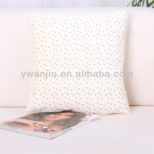 Supply fashion crystal velvet USB heating cushion/pillow