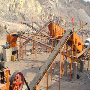 Mini small scale stone crusher plant prices with layout and designing