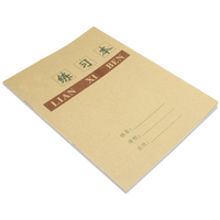 Custom sale school product a4 exercise paper notebook