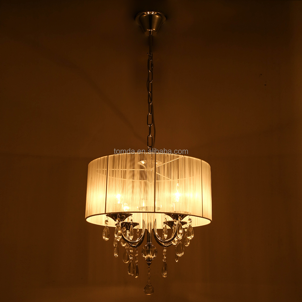 Contemporary ceiling chandelier,ceiling pendant lamps,fabric pendant lights