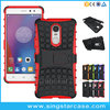 Hbrid TPU+PC Dual Layer Kickstand Phone Case Cover For Lenovo K6 Note Case
