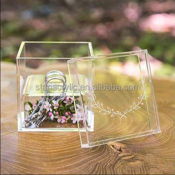 Clear acrylic wedding ring boxplexiglass ring bearer box buy clear acrylic wedding ring box plexiglass ring bearer box junglespirit Image collections