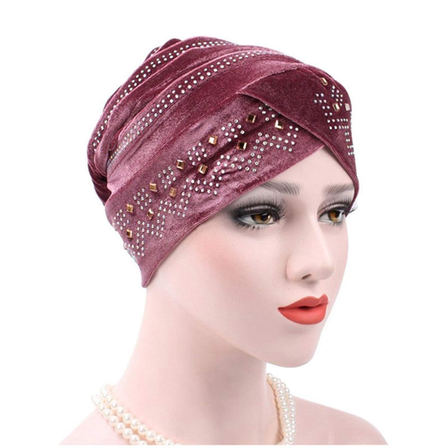 Cheap Bonnet Hijab Cap Find Deals On Line At Headpiece Get Quotations Zhengpin Women Underscarf Muslim Full Cover With Diamond