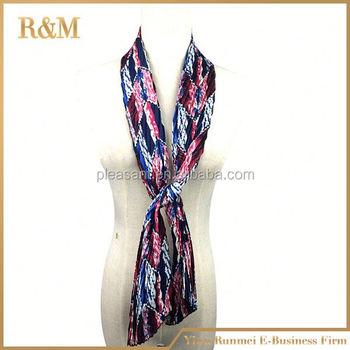 2016 new floral design skull print wholesale scarf buy