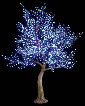Outdoor LED Cherry Blossom Christmas Tree Lights : outdoor led lights christmas - www.canuckmediamonitor.org