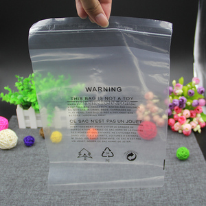 Plastic Flat Packaging Bags for clothing